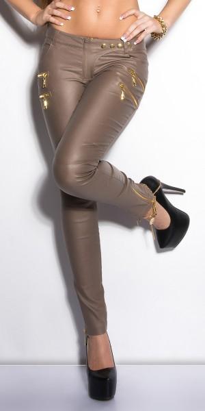 Sexy KouCla Skinnies mit Zippern