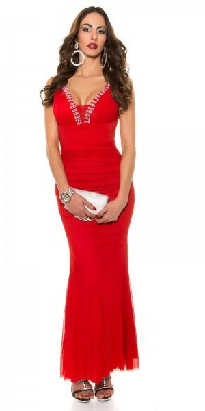 Red-Carpet-Look!Sexy Koucla Abendkleid Strass