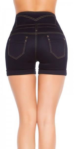 Sexy highwaist Jeans-Shorts