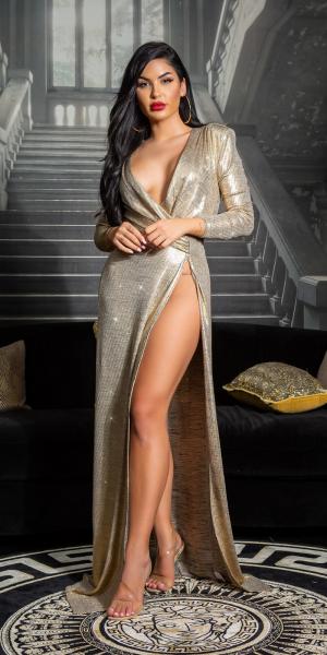 Sexy Koucla GOLDEN GIRL RedCarpet Dress
